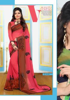 Vanika Georgette Sarees For Women