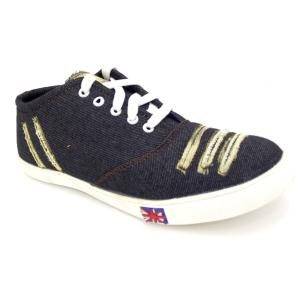 Brolik Canvas Lace-ups Casual Shoes For Men