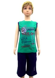 Active T-Shirt Combo For Boys(7-12 Year)