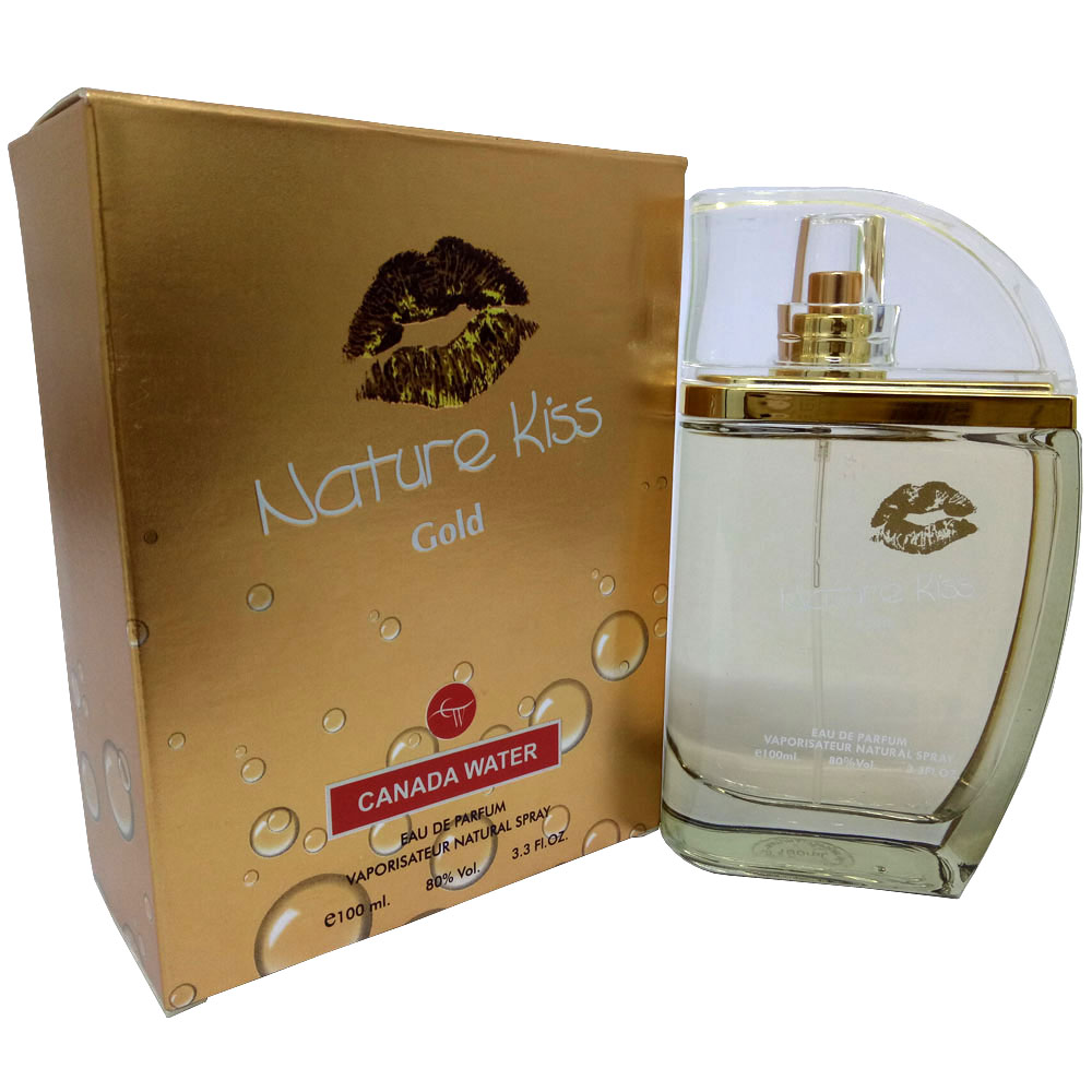 Canada Water Nature Kiss Gold Perfume For Women Eau de Parfum  (100 ML)