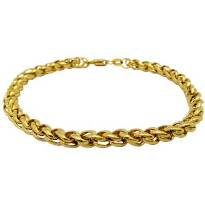 HJ Golden Bracelet For Men