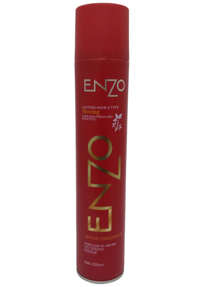 Enzo Odour Fragrance Hair Spray For Men & Women (420 ML)