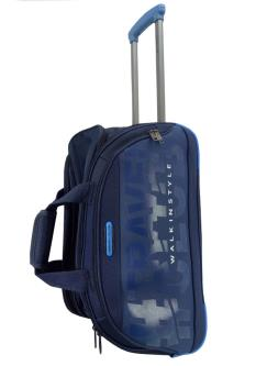 Travel Club Duffle Travel Luggage Bags With skate-style 2 wheels