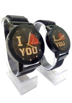 Royal 100 Combo Of Analog Dial Couple Watch For Men & Women