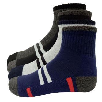 New Sky Ankle Length Socks For Men (Pack Of 4)