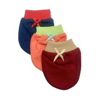 Royal 100 Soft & Warm Cotton Mittens & Booties For Baby Kids(Pack Of 3)