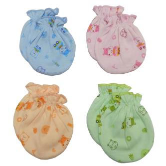 Royal 100 Cotton Mittens For Baby Kids (Pack of 4)