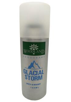 Woodland Glacial Storm Deodorant Body Spray For Men And Women (150ML)