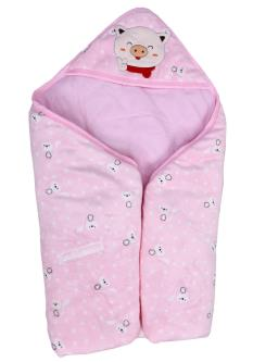 Royal 100 Soft & Lightweight Fleece Hooded Quilt For Baby Kids
