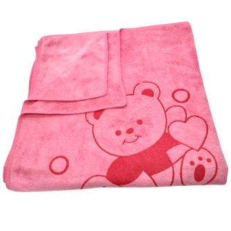 Royal 100 Soft & Absorbent fleece Big Bath Towel For Baby Kids
