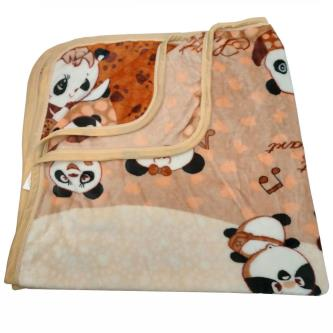 Royal 100 Soft & lightweight fleece Muslin Blanket For Baby Kids