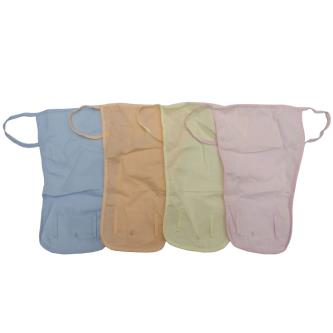 Royal 100 Re-usable Cotton Cloth Nappies with Lace For Baby Kids(Pack Of 4)