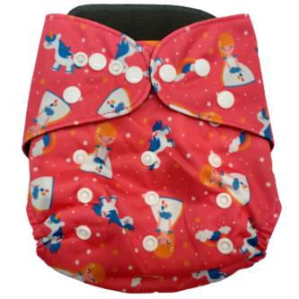 Royal 100 Soft & Reusable Bamboo Cloth Diaper with Dry Pad For Baby Kids