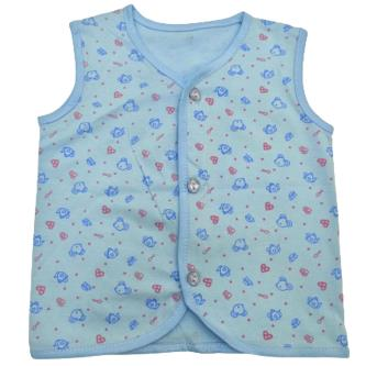 Todcare Printed Cotton Sleeveless Vests For Baby Kids