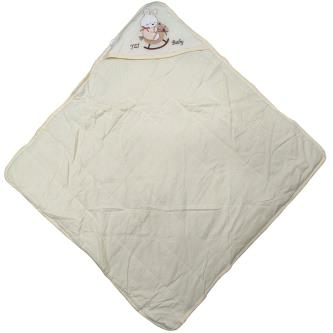 Royal 100 Soft ,Gentle & Absorben Hooded Quilt For Baby Kids