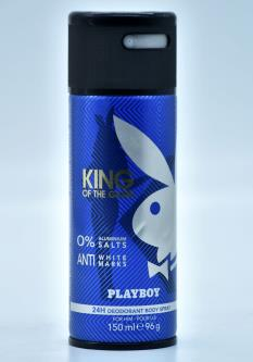 Playboy King Of The Game Boy Dnt Spray For Men (150ML)