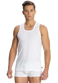 Jockey White Cotton Vests (Pack of 2)