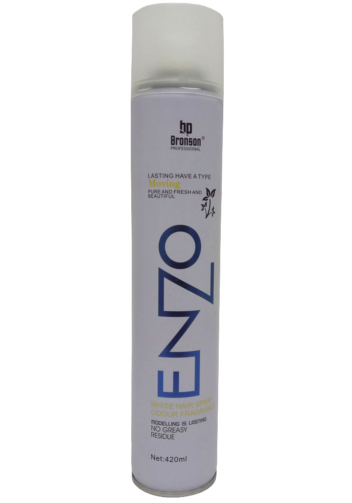 Bronson Professional Enzo Hair Spray For Men (420ML)