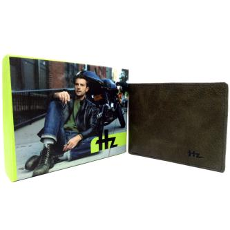 Hz Casual Genuine Leather Wallet For Men