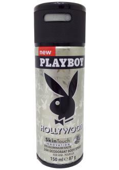 Playboy Hollywood Deodorant Spray For Men