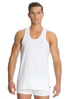 Jockey White Cotton Vests - Pack Of 3