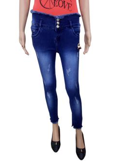 7-Nine Jeans Slim Fit For Women