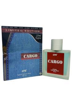 CFS Cargo Blue Denim Apparel Perfume Spray For Women & Men  (100 ML)