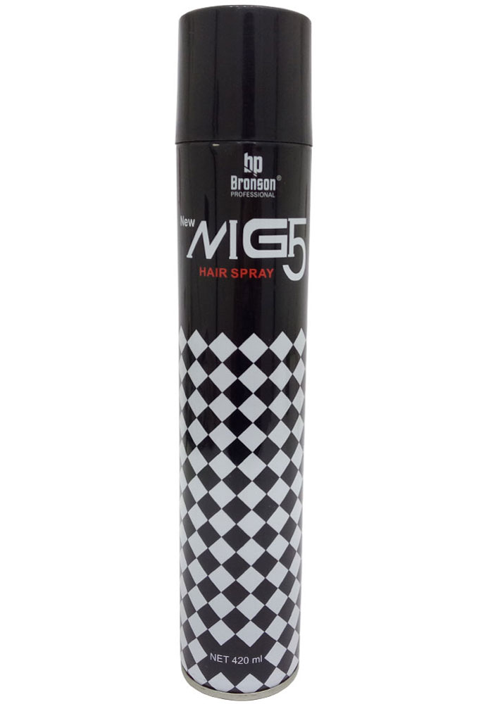 Bronson Professional Mg5 Hair Spray For Men (420 ML)