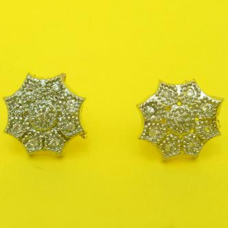 Devi Gold Plated Star Stud Earring For Women
