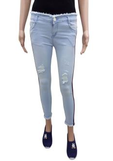T&M Cigarette Jeans For Women