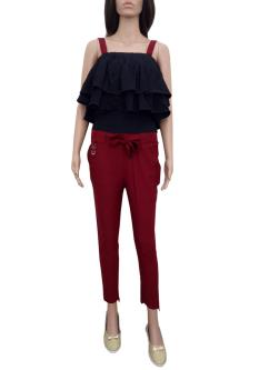 Royal 100 Top With  Cigarette Trouser For Women