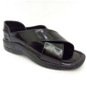 Grison Black Sandal For Men