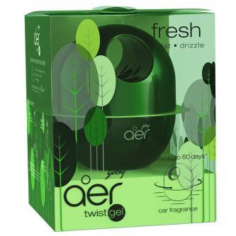 Godrej  Green Fresh Forest Drizzle Car Air Freshener Gel (45GM)
