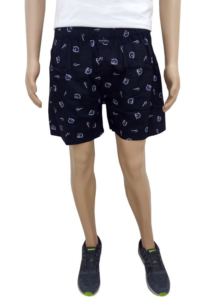 Black Paper  Shorts For Men
