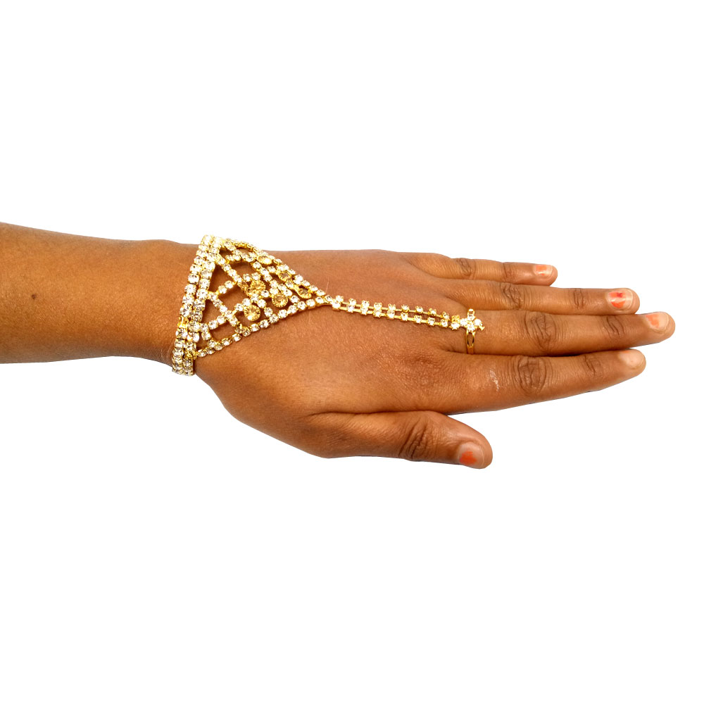 Devi Ring Bracelet For Women