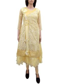 Gulistan Full Length Dress For Girls