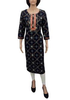 Royal 100 Staight Kurtis For Women
