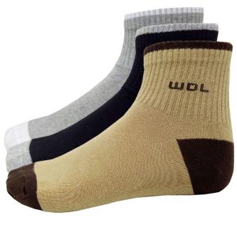 Woodland Ankle Length Socks For Men (Pack Of 3)