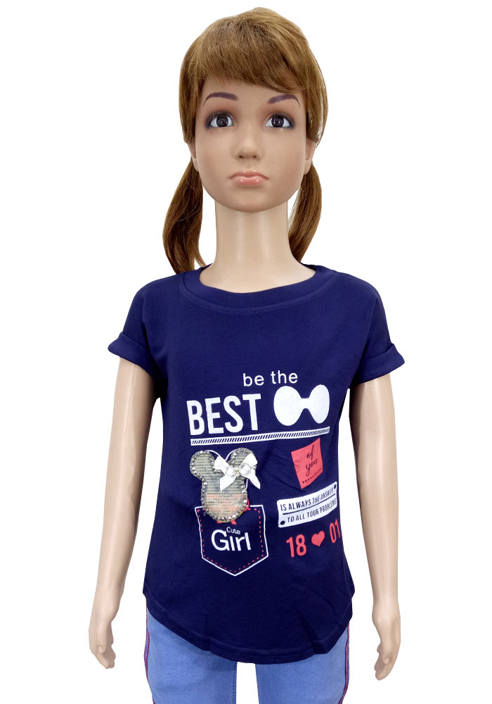 Royal 100 T-Shirts For Girls