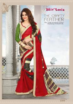 Shiv Leela Georgette Sarees For Women