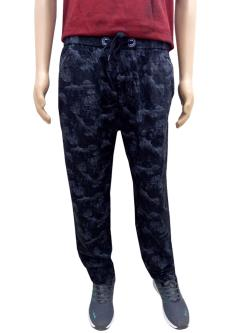 Black Wine Track Pants For Men