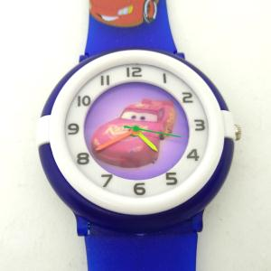 Disney Car Analog Watch For Boys