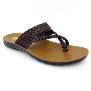 Aerowell Brown Chappal For Men