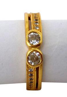 Devi Golden Ring For Women