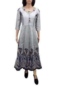 Dps Full Length Dress For Girls
