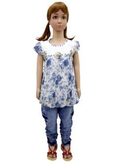 Baby Q Jeans & Top For Girls