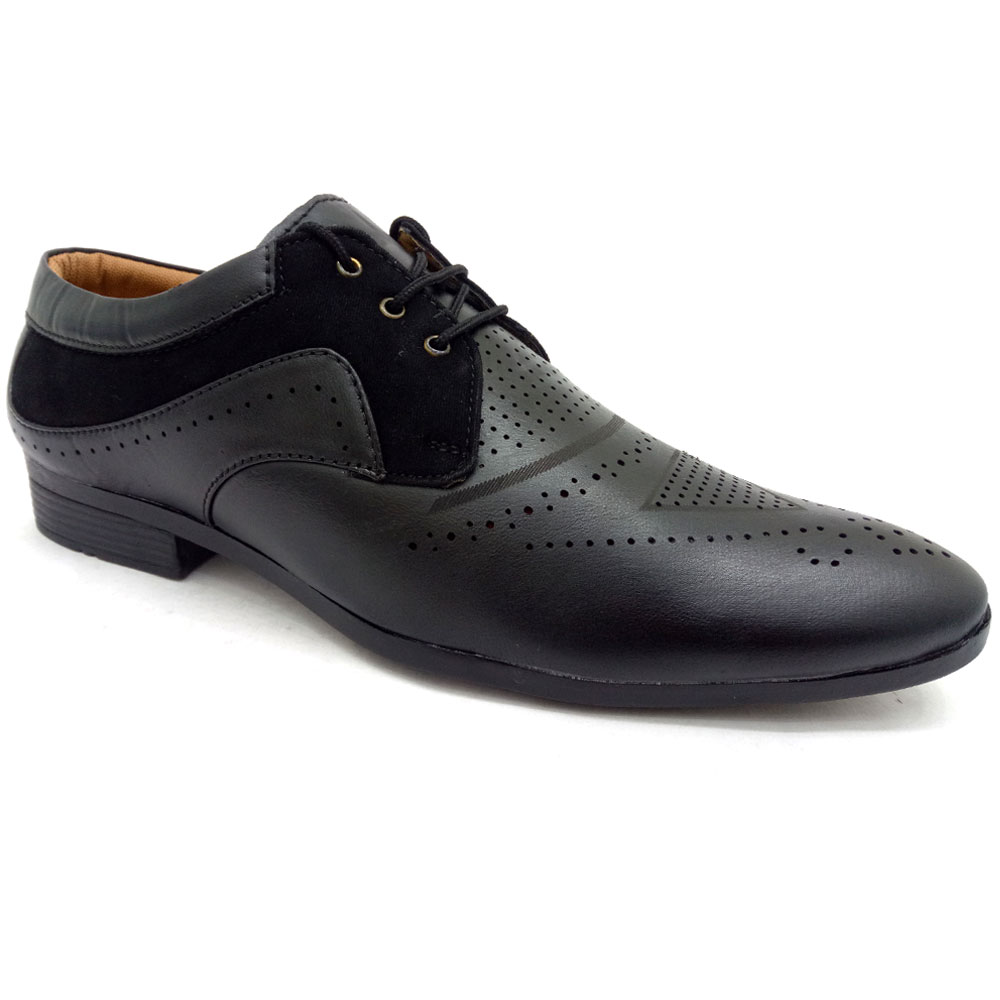 Red Rose Formal Shoes For Men
