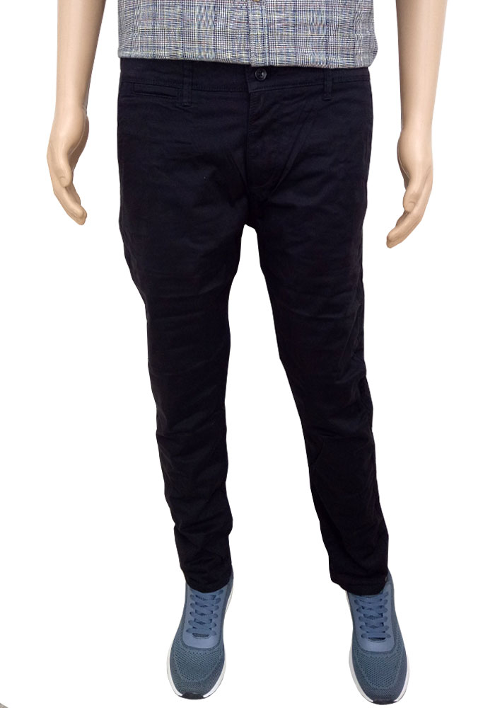 Necked Casual Trousers For Men