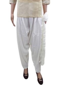 Plain Reyon Palazzos For Women