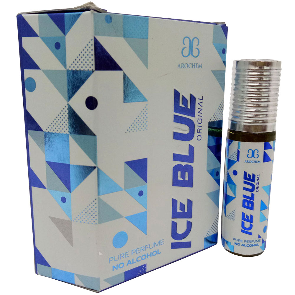 Arochem Ice Blue Concentrated Attar Free From Alcohol (6 ML)